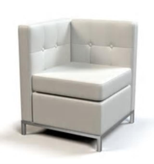 Where to find SECTIONAL CORNER WHITE LEATHER in Raleigh