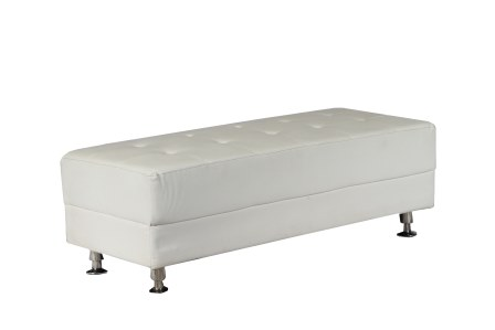 Remarkable Rectangle White Leather Ottoman Rentals Raleigh Nc Where Camellatalisay Diy Chair Ideas Camellatalisaycom