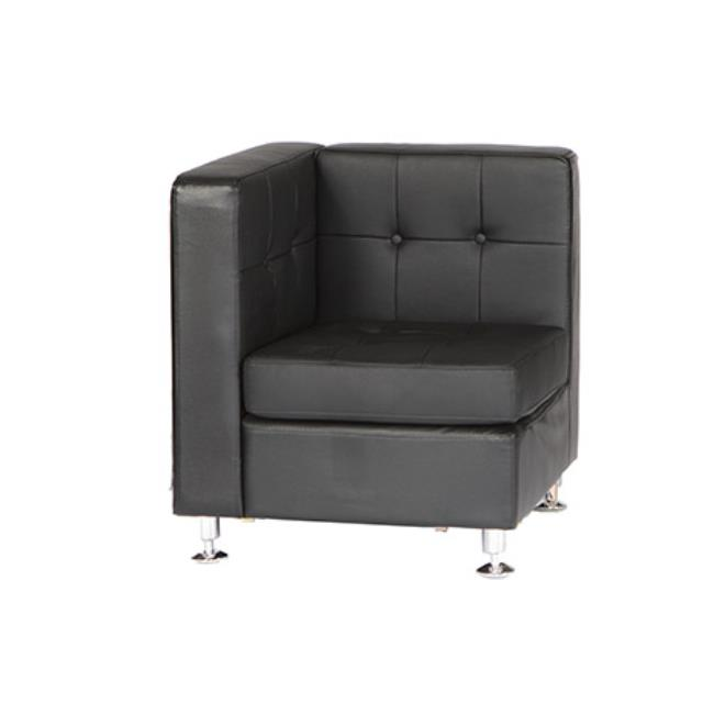 Black leather corner sectional rentals Raleigh NC | Where to ...