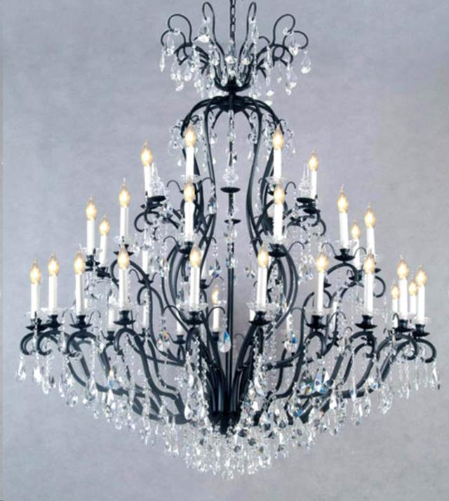 41 light wrought ironcrystal chandelier rentals raleigh nc where where to find chandelier 41 light wrought iron crystal in raleigh aloadofball Choice Image
