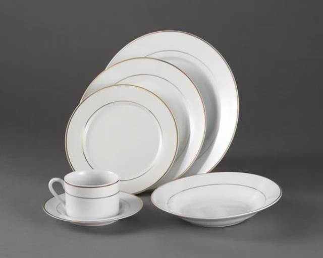 Where to find SAUCER IMPERIAL WHITE W  GOLD TRIM in Raleigh