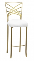 Rental store for CHAMELEON FANFARE GOLD BARSTOOL in Raleigh NC