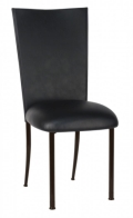 Rental store for CHAMELEON CHAIR BLACK LEATHERETTE TOPPER in Raleigh NC